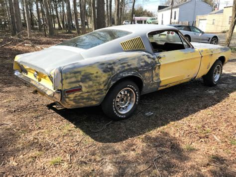 1968 Ford Mustang Fastback Running Driving Project Fast