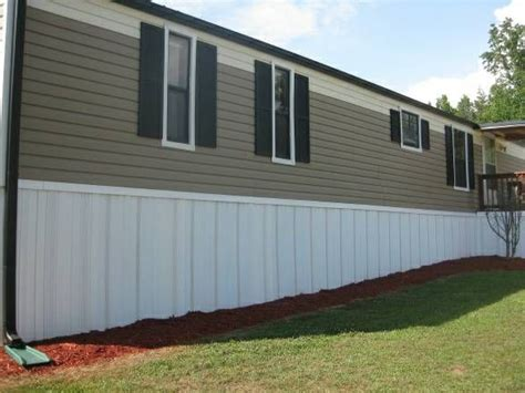 wood skirting for mobile homes reduce mobile home heating costs with these upgrades 1947