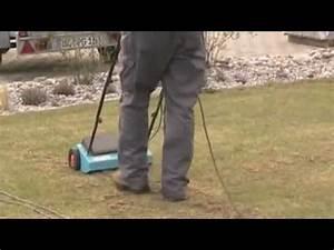 Rasen Lüften Mit Lüfterwalze : rasen lueften mit dem rasenluefter von gardena youtube ~ Yasmunasinghe.com Haus und Dekorationen
