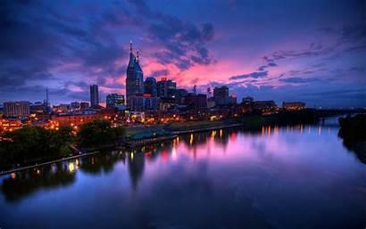 Nashville Usa Wallpapers Tn Background Tennessee Skyline