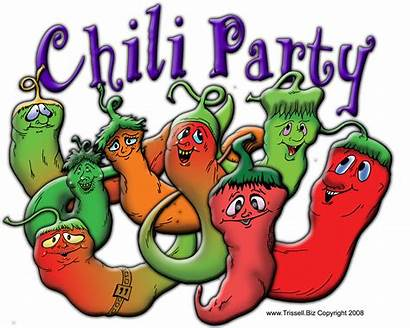 Chili Clip Clipart Soup Cliparts Cartoon Chilly