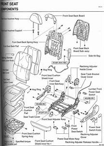Front Seat Diagram  Broken Part
