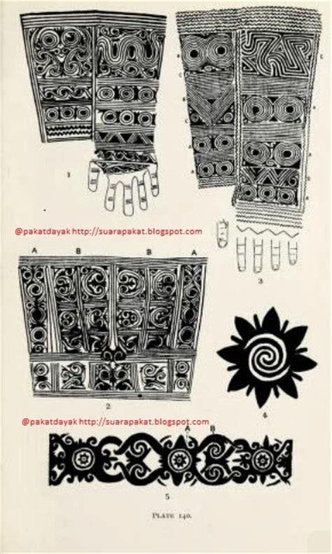 pakat dayak gambar motif motif tato dayak bagian ii oleh