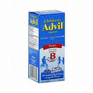 Children S Advil Ibuprofen Fever Reducer