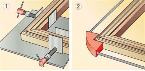 Costruire Una Cornice In Legno by Realizzare Una Cornice Fai Da Te
