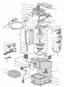 Delonghi Ec155 Parts List And Diagram   Ereplacementparts