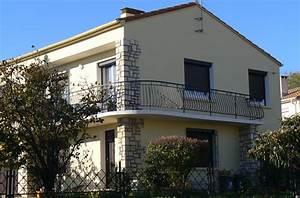 Peinture Pour Façade De Maison : ravalement de facade nettoyage de toiture 34 et 11 ~ Premium-room.com Idées de Décoration