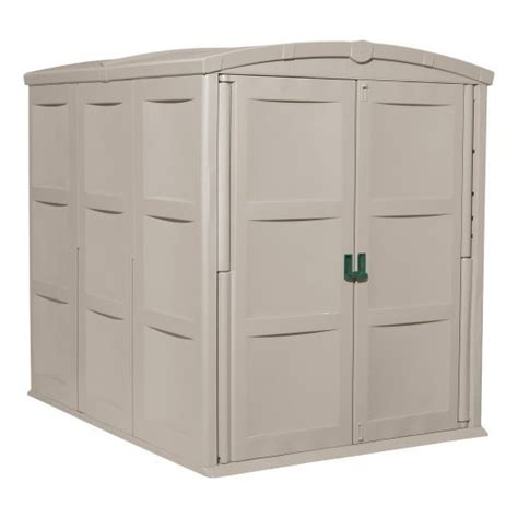 Rubbermaid Slide Lid Storage Shed Shelves by Suncast Bms4900 Glidetop Slide Lid Shed