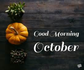 Good Morning, October! | Exploring Autumn in Various Shades