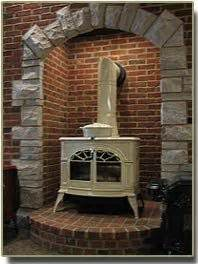 building  fireplace   existing chimney cambridge