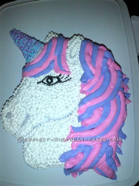 pretty  pink  purple unicorn birthday cake