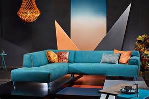 brilliant a hint of turquoise with orange accents for your living room with grey wall interior