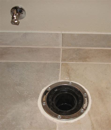 drilling through porcelain tile terry plumbing