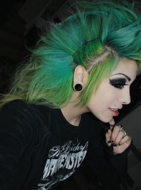 punk hairstyles for long hair elle hairstyles