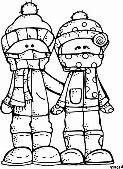Coloring Pages Winter Clipart Season A4