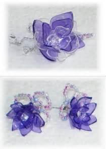 Plastic Bottle Earrings