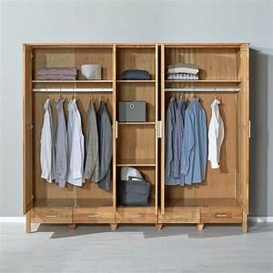 Kleiderschrank New Oak 5 Trig Gelt JYSK