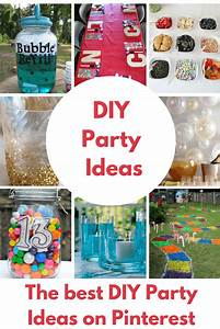 DIY Birthday Party Ideas that Rule! - Princess Pinky Girl