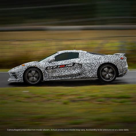 corvette reveal event   auctioned  charity