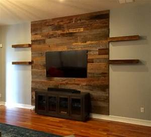 wood on walls home design With cheap wood accent wall