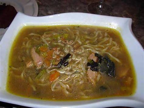 recette cuisine japonaise traditionnelle recette de soupe japonaise au poulet