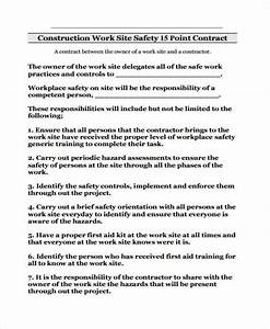 Safety Contract Templates