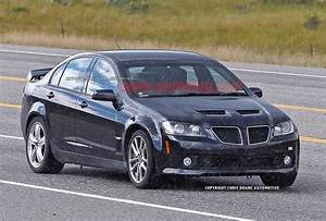 Chevy SS prototype spotted wearing Pontiac G8 clothes