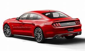 I know it is just a concept, but a 4 door Mustang would be my jam very much. Or in a pinch ...
