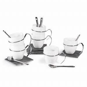 Tasse à Café Avec Support : coffrets tasses caf et th maisons du monde ~ Teatrodelosmanantiales.com Idées de Décoration