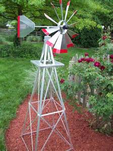 6 39 decorative ornamental garden aluminum windmills