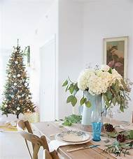 coastal christmas decor table - Coastal Christmas Decor