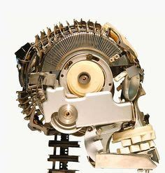 Awesome Typewriter Assemblage Sculptures by 18 Best Awesome Typewriter Assemblage Sculptures Images