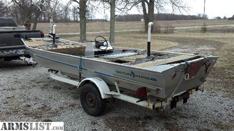 Fisher Marine Boats by Armslist For Sale Trade 1980 16 Alum Flat Bottom