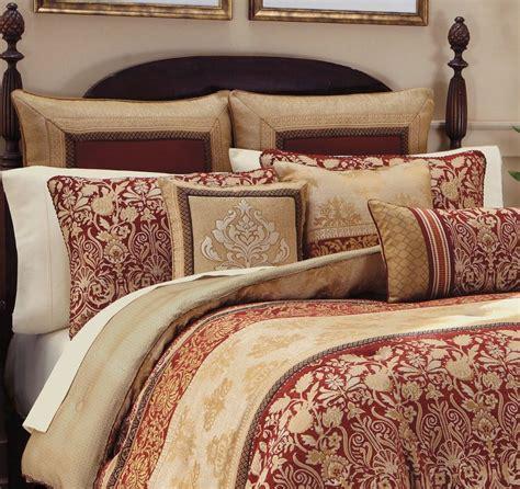 gold comforter set croscill renaissance comforter shams bedskirt 4pc