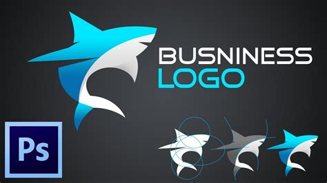 tutorial how to make business logo with adobe photoshop cc youtube