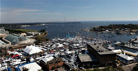 Annapolis Boat Show by Annapolis Events Us Sailboat Show Tour By Helicopter