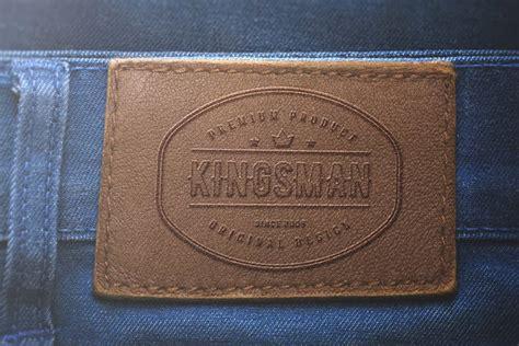 jeans label mockup  psd designhooks