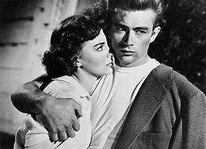 James Dean and Natalie Wood in Rebel Without a Cause ...