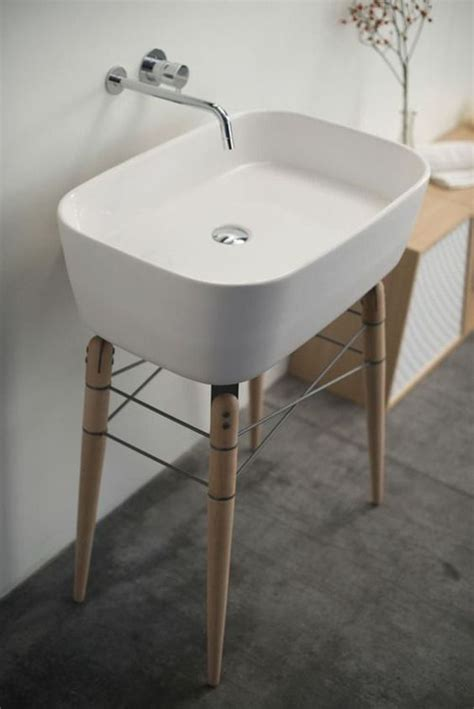 cool  creative sink stands   bathroom digsdigs