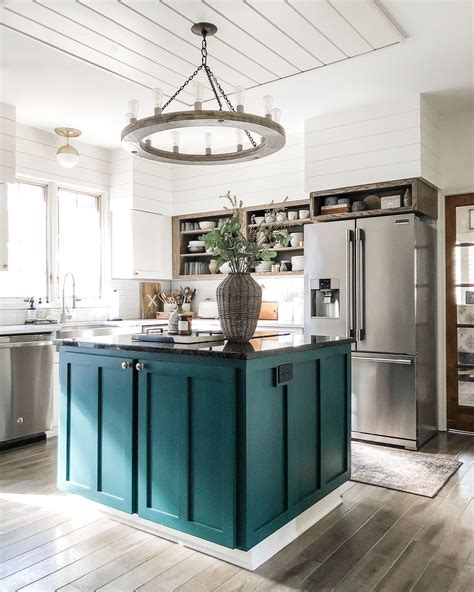 kitchen color ideas inspiration teal kitchen green