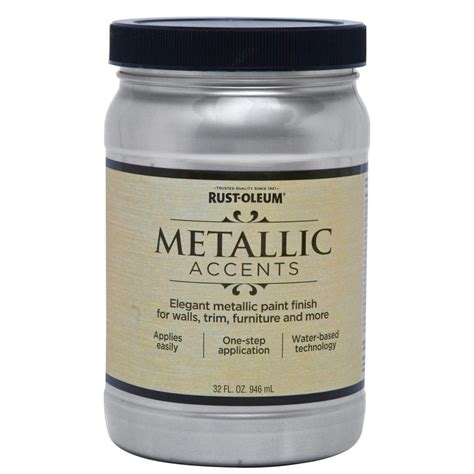 Shop Rust-oleum Metallic Accents Quart Size Container