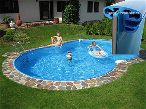 Pool 1 50 Tief by Achtformbecken Pool Quot Family Quot 1 50m Tief G 252 Nstig Kaufen
