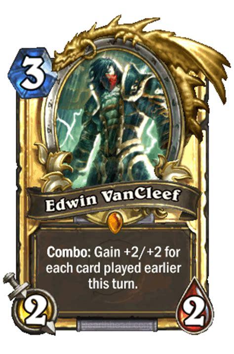 edwin vancleef deck tgt deck cartes l 233 gendaires edwin vancleef hearthstone