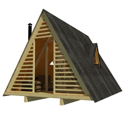 a frame blueprints a frame shed plans