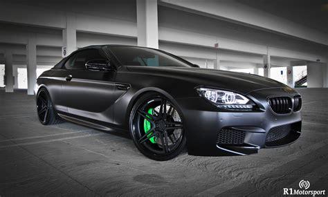 bmw supercar black satin black bmw m6 by r1 motorsports gtspirit