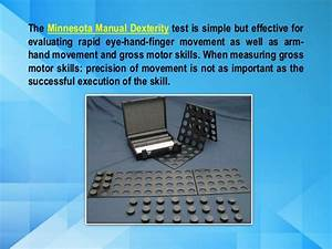 Minnesota Dexterity Test Guide And Instructions