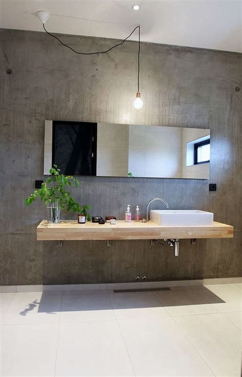 Modern Bathroom Wall Designs by 20 Amazing Bathroom Designs With Concrete