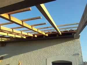 avancee de toit pour couvrir terrasse With faire une terrasse sur un toit