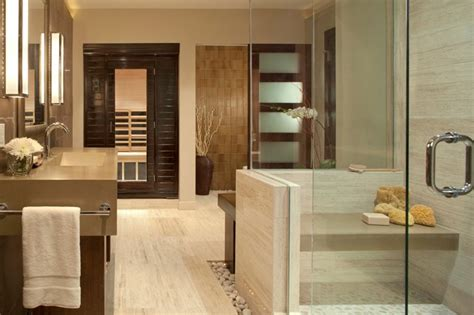 personal spa bath contemporary bathroom denver