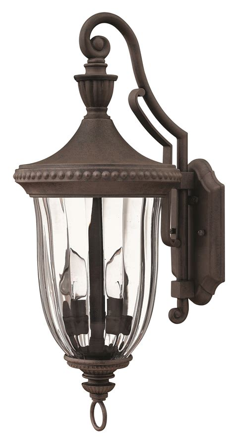hinkley lighting mn oxford traditional outdoor wall sconce medium hk  mn